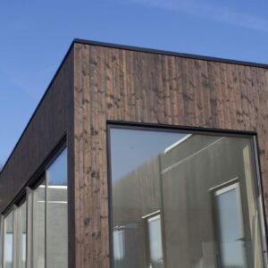 Shou sugi ban fasad