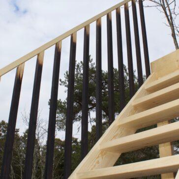 Stairway to heaven – Furu och Shou Sugi Ban