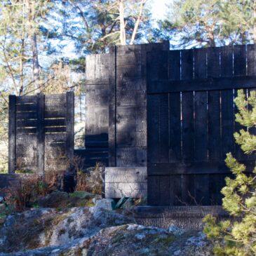Shou Sugi Ban reclaimed wood odlingslådor