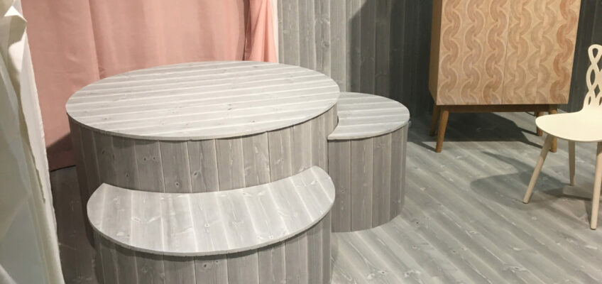 Myltha Stockholm Furniture and Light Fair 2020 Monter by TREE